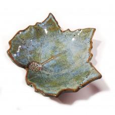 Bowl-leave (E) Blue mineral
