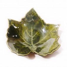 Bowl-leave (H) Dark green
