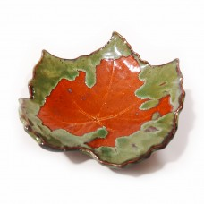 Bowl-leave (I) Green lava