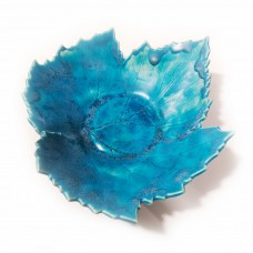 Bowl-leave (X) Turquoise