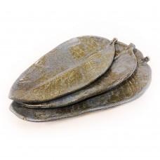 "Set saucers-leaves ""Ancient"""