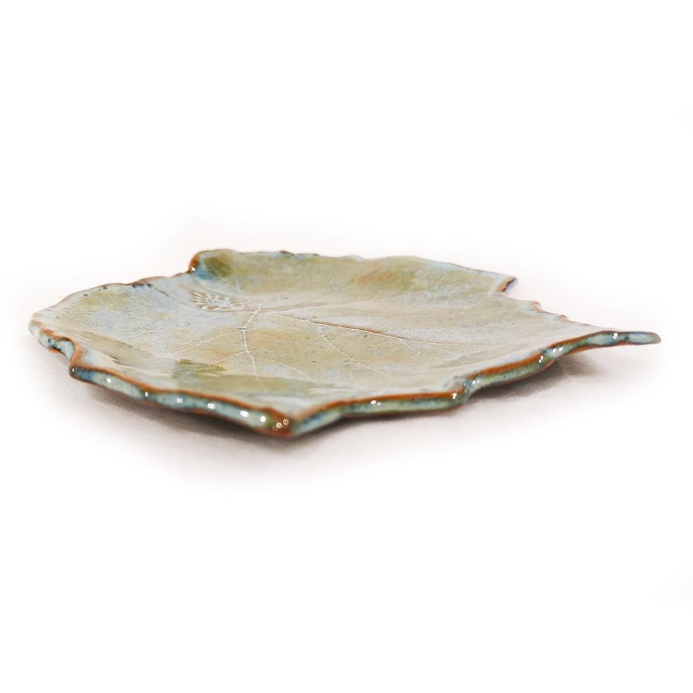 Leaves-plates (B) Blue mineral